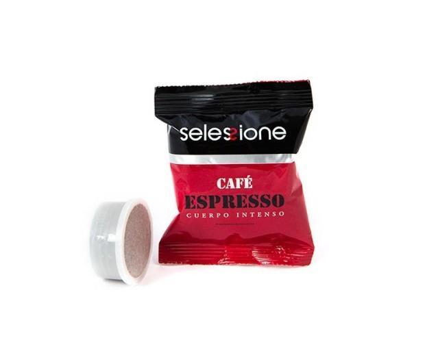 Café espresso en cápsulas