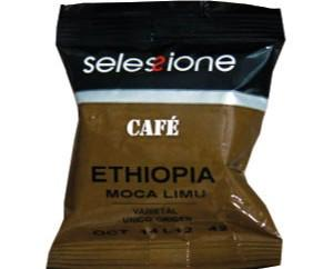 Cápsulas Cafetalia Etiopía. Café con cuerpo y un nivel de acidez muy equilibrado.