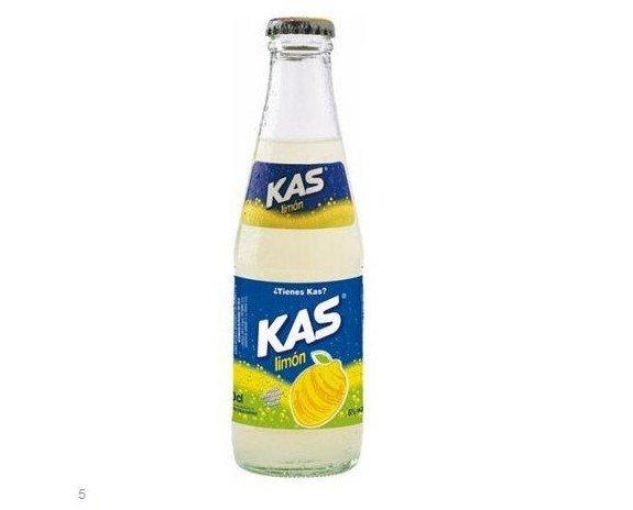 Kas. Bebida gaseosa de limón