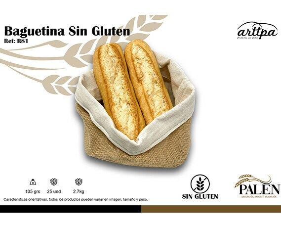 PAN SIN GLUTEN. Disponemos de varios modelos de pan sin gluten