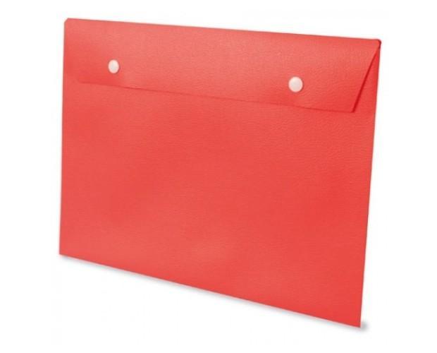 Carpeta sobre roja. Carpetas de varios colores y modelos
