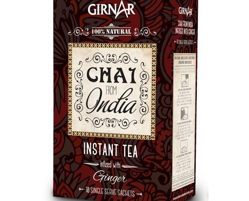 Chai con Jengibre. Delicioso y refrescante Caja de 10 dosis