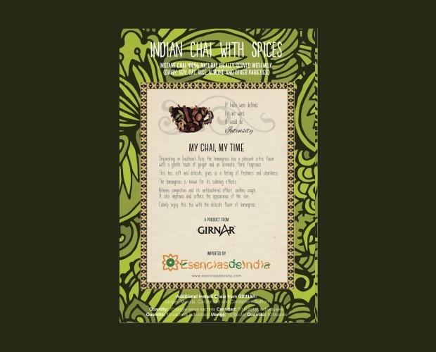 Auténtico té de India. Té con especias