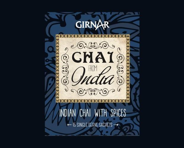 Chai Girnar. Auténtico té de la India
