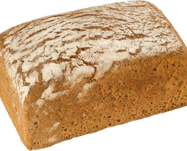 Pan de centeno. Rico y esponjoso