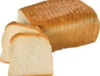 Pan de molde cortado