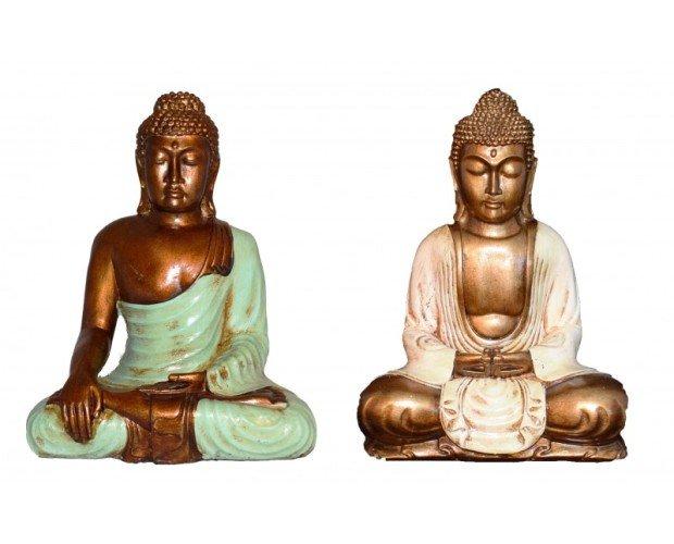 Buda Thai. Fabricado en resina