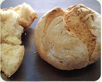 Pan congelado sin gluten. Diversos tipos de pan