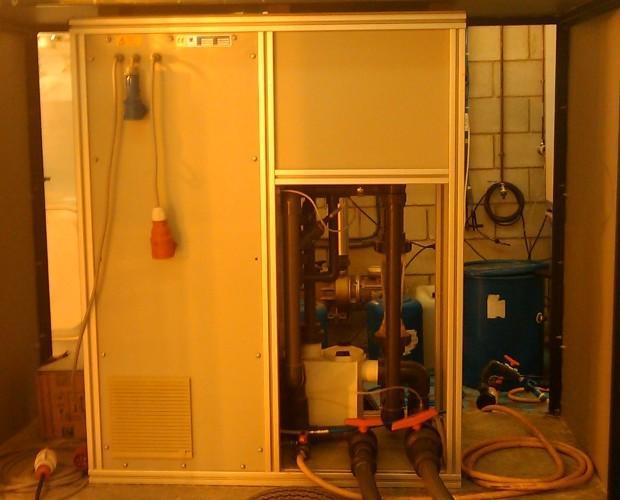 EquipoOzono portatil. Sistema de tratamiento oxidación avanzada Portátil