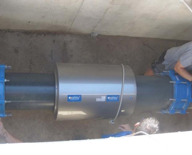Equipo antical RF16. EQUIPO ANTICAL RF Tratamiento agua red municipal