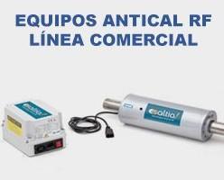 Descalcificador Comercial. Un sistema Antical RF funciona por un proceso electro físico de emisión de ondas