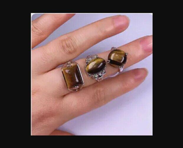 Piedras Ojo de Tigre. Es un excelente amuleto para atraer riquezas y buena suerte