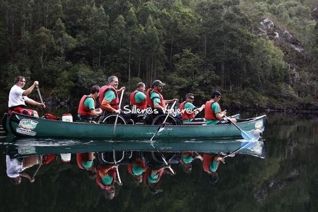 Canoa accesible. Rutas en canoa adaptadas para silla de ruedas
