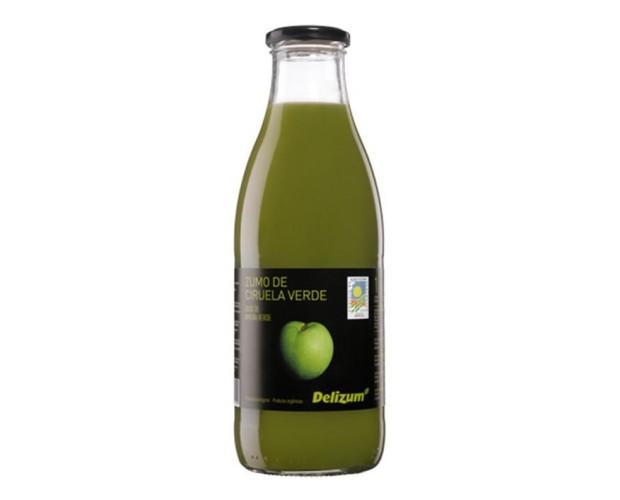 Néctar de ciruela verde. A partir de puré de ciruela ecológica