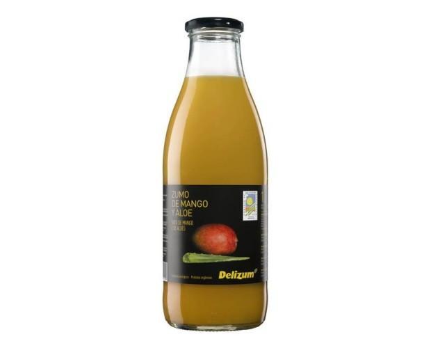Néctar de mango y aloe vera ecológico. Contenido en fruta: 30%