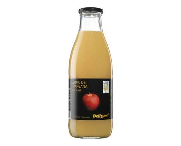 Zumo de manzana. Bandeja retractilada de: 12 uds, 24 uds, 6 uds