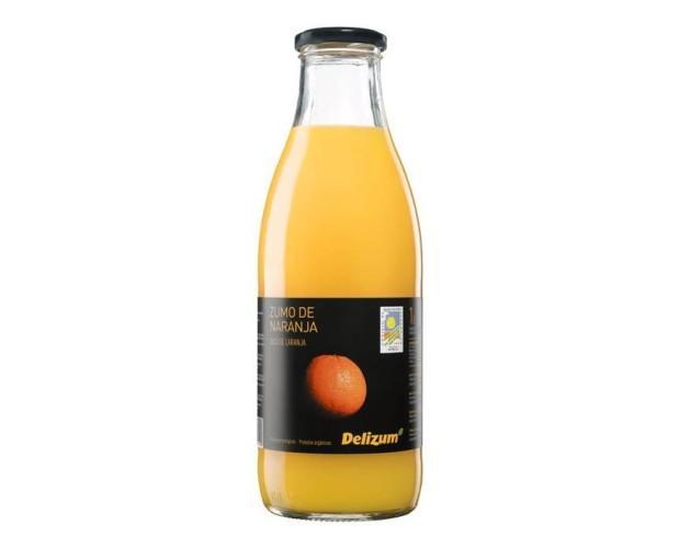 Zumo de naranja. A partir de concentrado de naranja ecológica