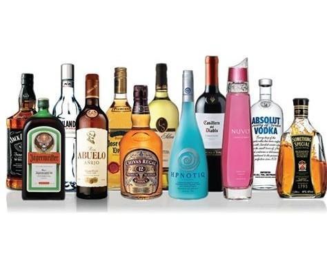 Variedad de licores. Contamos con gran diversidad de bebidas alcoholicas
