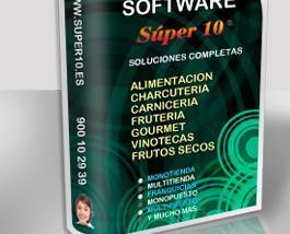 Software especializado. Ideal para alimentación, charcutería, carnocería, fruterías, vinotecas, etc.