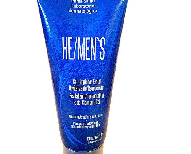 Gel limpiador facial. Gel espumoso facial para piel con cicatrices de acné, aclara, nutre y humecta