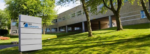 Nuestra sede central. Desde Dinamarca para toda Europa