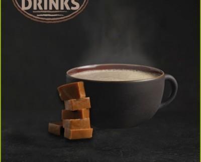 Classic Drinks Extreme Toffe Coffee. Con un toque de caramelo.