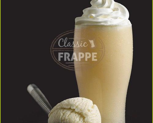 Frappé Vanilla Express. Nuestros Frappes son 0% grasas trans.