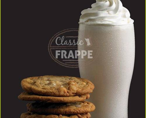 Frappé White Chocolate Shymphony. 0% grasas trans.