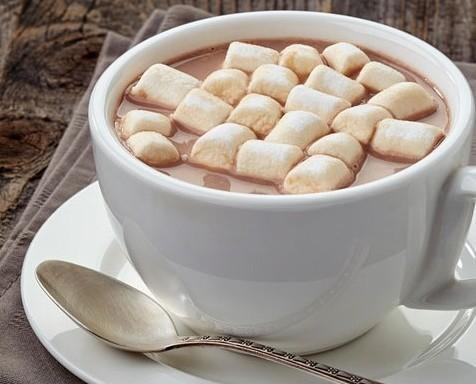 Chocolate a la taza. Único en sabor y suavidad. Llibre de alérgenos.