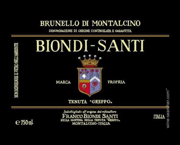 Biondi Santi. Vino italiano