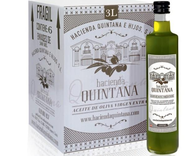 AOVE. Aceite de Oliva Virgen Extra en 500 ml cristal