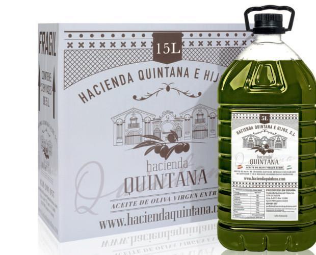 AOVE 5 L. Aceite de Oliva Virgen Extra en 5 Litros PET