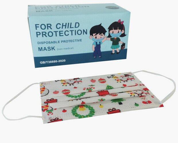 Mascarillas infantiles. Mascarilla higiénica infantil. El pack contiene 50 unidades