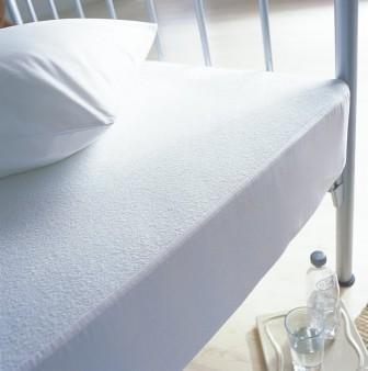 Protectores colchón. Protectores impermeables ajustables, base PU y tejido exterior de franela, antiacaros, suave al tacto, antiruidos, varias medidas disponibles