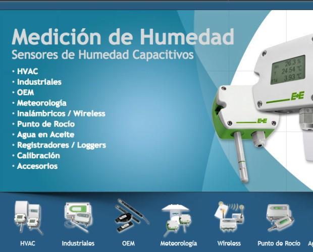 Instrumentos Meteorológicos.Sensores de humedad para HVAC, Industriales, OEM, Meteorología, Inalambricos, punto de rociom agua en aceite, Registradores, calibración y accesorios