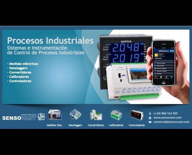 Medidores de Electricidad.Regulacion y control para medidas electricas, dataloggers, convertidores, calibradores y controladores