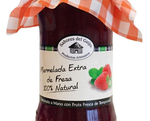 Mermelada de Fresa. 100% Natural