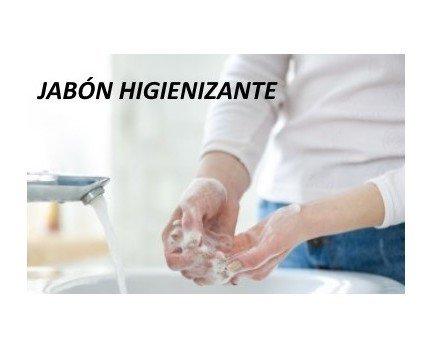 Jabón Higienizante. Recuerda lavarte las manos con frecuencia