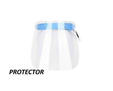 Pantallas Faciales. Combinadas con las mascarillas ofrecen un alto nivel de protección
