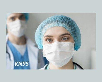 Mascarillas KN95. Alto grado de efectividad de filtración
