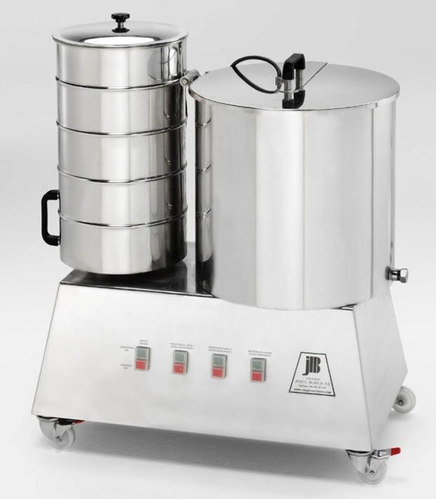 Amasadora churería. Amasadora con calentador de agua especial churrería.