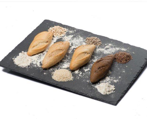 Surtido Gourmet Mini. Surtido Gourmet Mini de panes