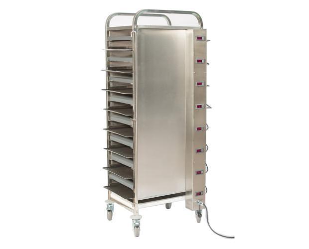 Deshidratadores 8 bandejas. El equipo posee control independiente por bandeja lo cual le permite deshidratar diferentes tipos de productos en cada una de...