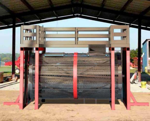 Secadero horizontal por infrarrojo. Ideal para el secado de todo tipo de granos con cubierta simple como puede ser el maíz, el trigo, la soja, el...