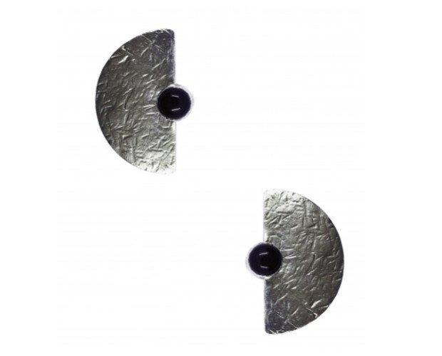 Pendientes Selene. Inspirados en la luna llena reflejada sobre las aguas del Mediterráneo