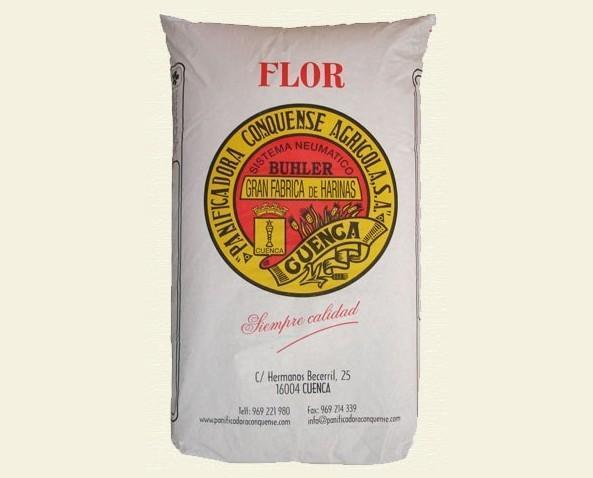 Harina de Trigo.Poca fuerza, procesos muy rápidos y fermentaciones cortas.