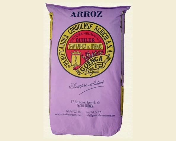 Harina de Arroz.Harina pura de arroz.