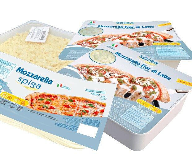 Mozzarella para pizzas. Disponemos de varios tipos de mozzarella para pizzas, todas de alta calidad