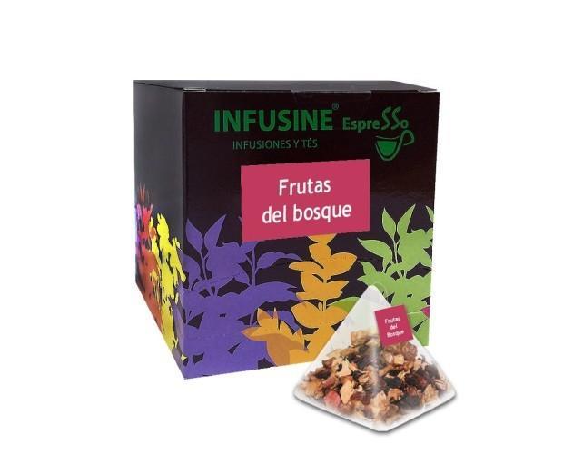 Infuisones Pirámide. Infusiones de pirámides con infinidad de sabores frutas del bosque, rooibos naranja, menta, manzanilla. Producto de alta calidad.