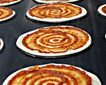 Bases de Pizza Congeladas.Bases de pizzas congeladas